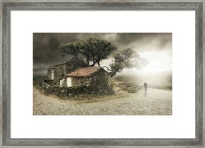 I'm Leaving Framed Print by Nuno Araujo
