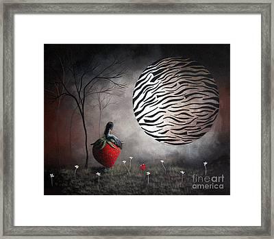 I'm Your Huckleberry By Shawna Erback Framed Print by Shawna Erback