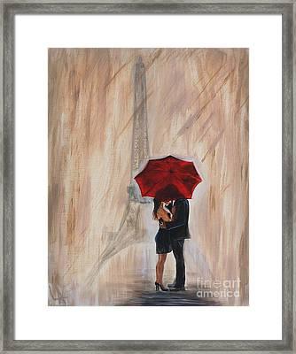 I'm Yours Framed Print by Leslie Allen