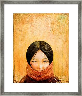 Image Of Tibet Framed Print by Shijun Munns