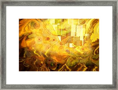 Imaginary Framed Print by Lutz Baar