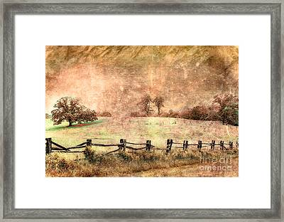 Imaginary Morning On The Blue Ridge II Framed Print by Dan Carmichael