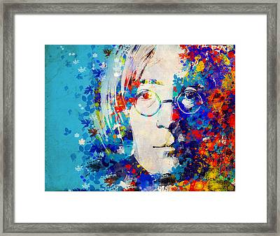 Imagine 6 Framed Print by Bekim Art