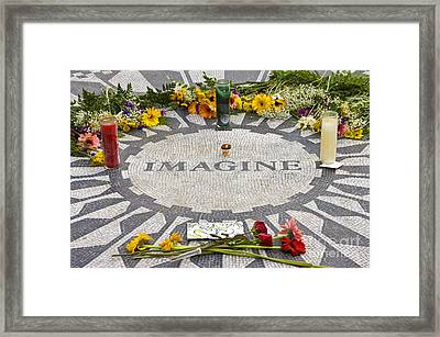 Imagine Framed Print by Anthony Sacco