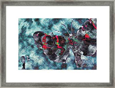 Imagine Number 1 Butterfly Art Framed Print by Andy Prendy