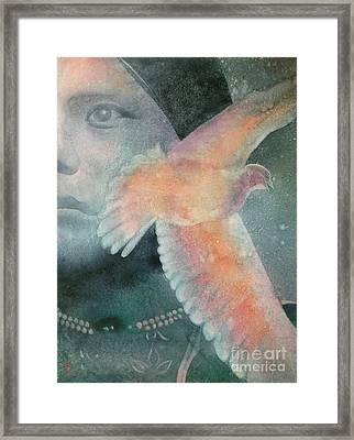 Imagine Framed Print by Robert Hooper