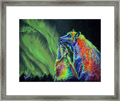 Imagine Framed Print by Teshia Art