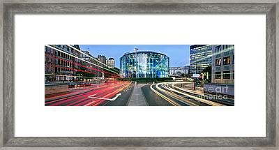 Imax Waterloo Framed Print by Rod McLean