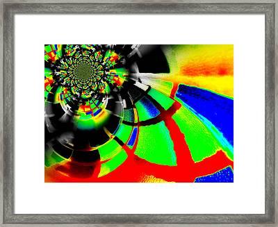 Imbuing Iv Framed Print by Aurelio Zucco