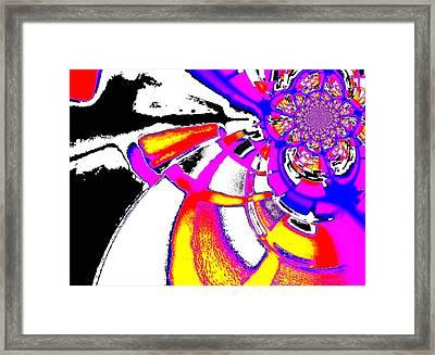 Imbuing Framed Print by Aurelio Zucco