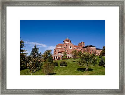 Immaculate Conception Monastery Framed Print by Sandy Keeton