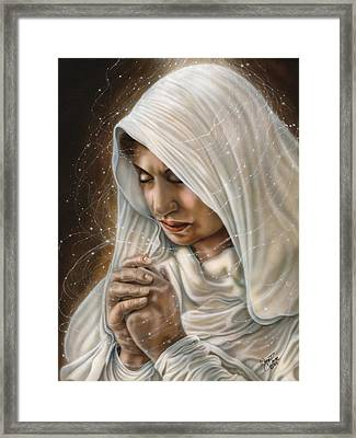 Immaculate Conception - Mothers Joy Framed Print by Wayne Pruse