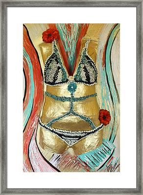 Immortal Framed Print by Artista Elisabet