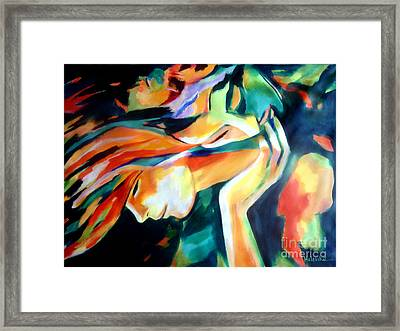 Immortal Love Framed Print by Helena Wierzbicki
