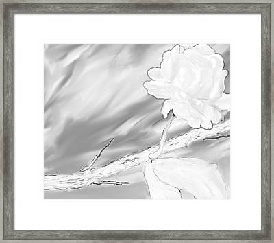 Immortal Love Framed Print by Nicla Rossini