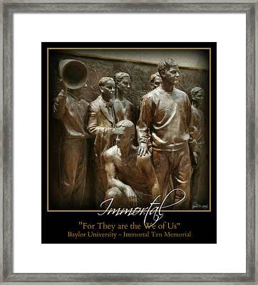 Immortal Framed Print by Stephen Stookey