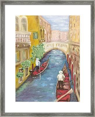 Immortal Venice Framed Print by Barbara Anna Knauf