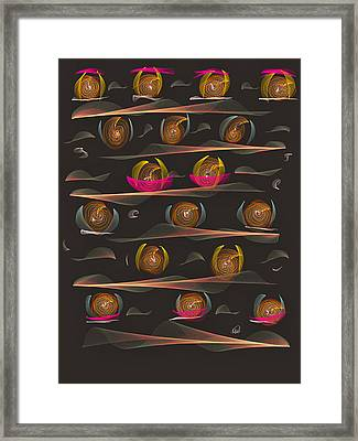 Impatience Framed Print by Angela A Stanton