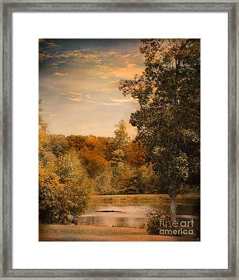 Impending Autumn Framed Print by Jai Johnson