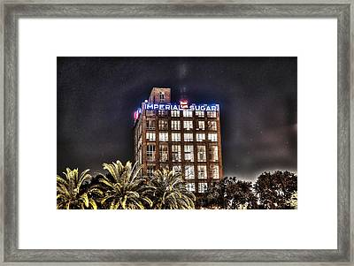 Imperial Sugar Mill Framed Print by David Morefield