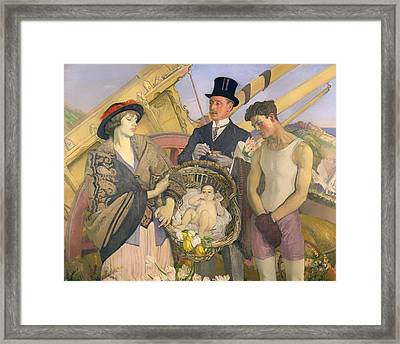 Important People Framed Print by Mountain Dreams