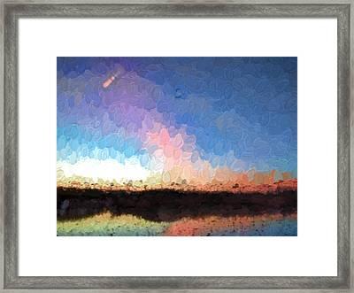 Impr1 Morning Light Otside Enkoping October 31 2014 Framed Print by Leif Sohlman