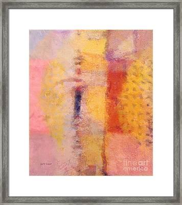Impression Iv Framed Print by Lutz Baar
