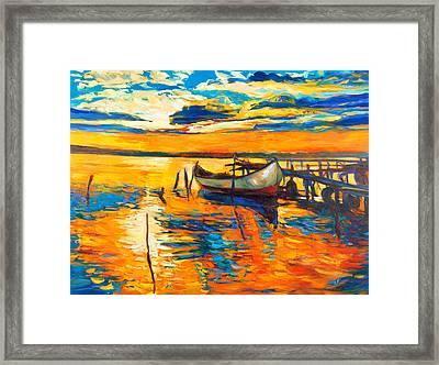 Impression Framed Print by Ivailo Nikolov