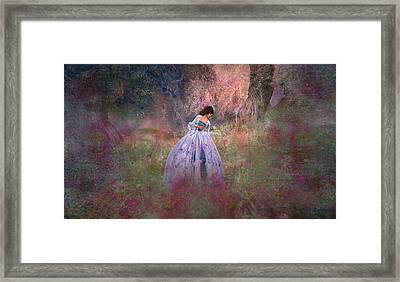 Impression Framed Print by Kylie Sabra