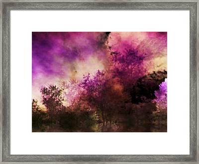 Impressionism Style Landscape Framed Print by Maggie Vlazny
