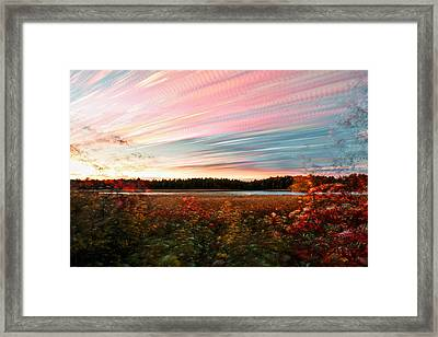 Impressionistic Autumn Framed Print by Matt Molloy