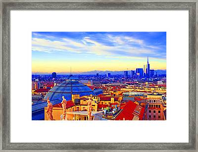 Impressionistic Photo Paint Gs 011 Framed Print by Catf