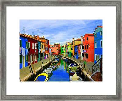 Impressionistic Photo Paint Gs 013 Framed Print by Catf