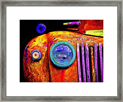 impressionistic photo paint GS 019 Framed Print by Catf