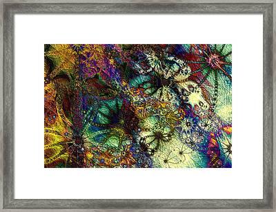 Impressions Framed Print by Kiki Art