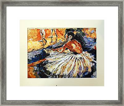 Impressions Of The Impressionists Series II Framed Print by Mihira Karra
