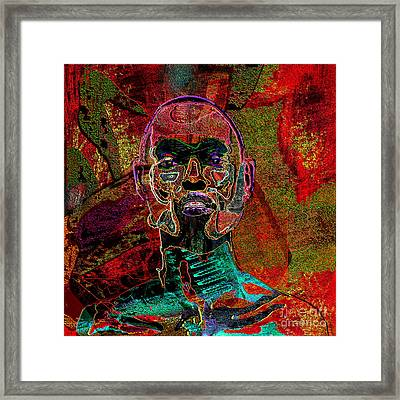 Imprint Of Proof Framed Print by Reggie Duffie