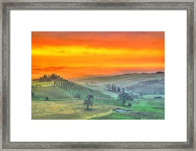 In A Distant Land. Framed Print by Midori Chan