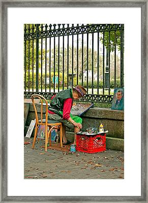 In Another World Framed Print by Steve Harrington