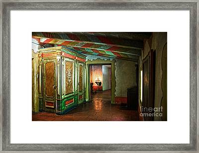 In Carmel Mission Framed Print by RicardMN Photography