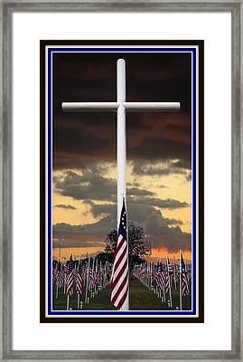 In God We Trust Framed Print by Ella Kaye Dickey
