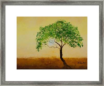 In Heat Framed Print by William Killen