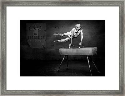 In His Prime Framed Print by Kt Allen