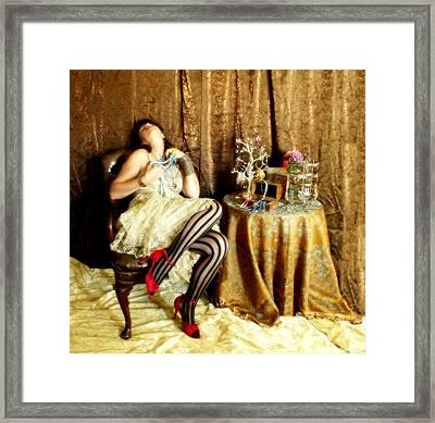 In Love Framed Print by Cindy Nunn