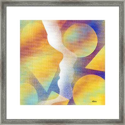 In Love With Dreams Framed Print by Hakon Soreide