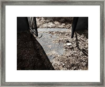 In Memory Framed Print by Luke Moore