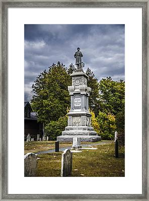 In Memory Of Eden's Sons Framed Print by Julie Palencia