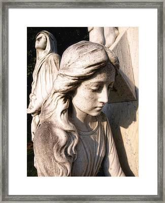 In Mourning Framed Print by Tom Druin