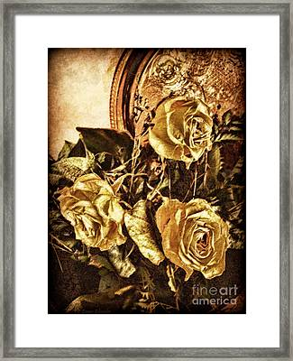 In Remembrance Of Things Past Framed Print by Lianne Schneider