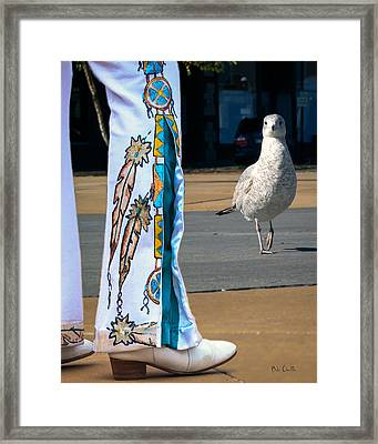 In Search Of Elvis Framed Print by Bob Orsillo